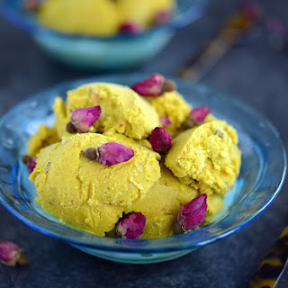 Bastani - Persian Rosewater, Saffron and Pistachio Ice Cream