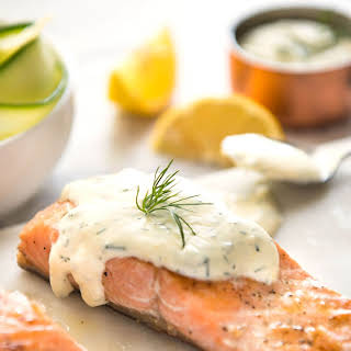 Creamy White Sauce For Salmon Recipes.