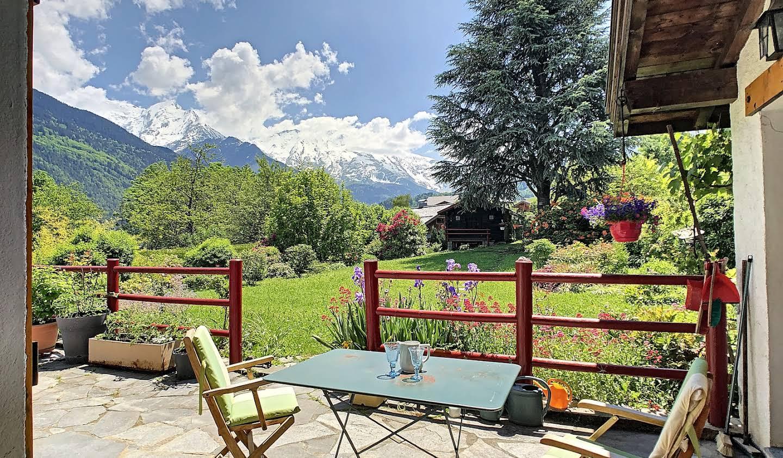 Chalet avec vue panoramique et terrasse Saint-Gervais-les-Bains