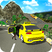 Crazy Taxi Game Simulator