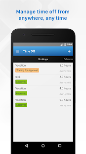 Replicon - Timesheets with GPS- screenshot thumbnail