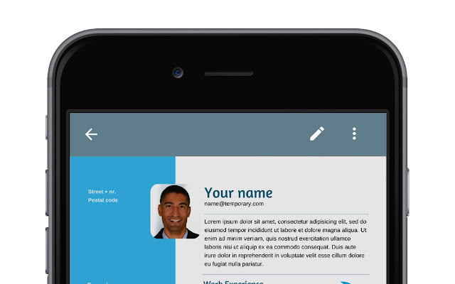Resume App - Chrome Web Store