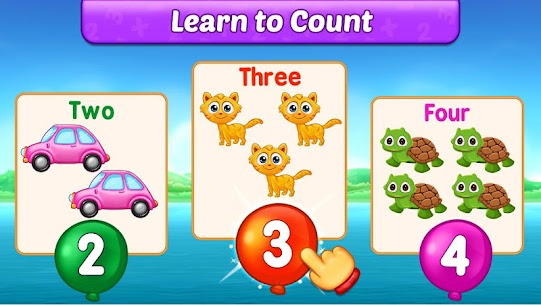 Math Kids – Add, Subtract, Count, and Learn 4