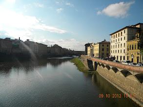 Photo: The Arno river