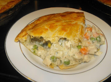 The Best Chicken Pot Pie Ever! Recipe