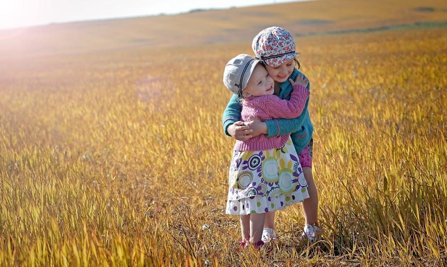 Best Friends by John and Serena Taylor - Babies & Children Children Candids ( kids playing in summer )