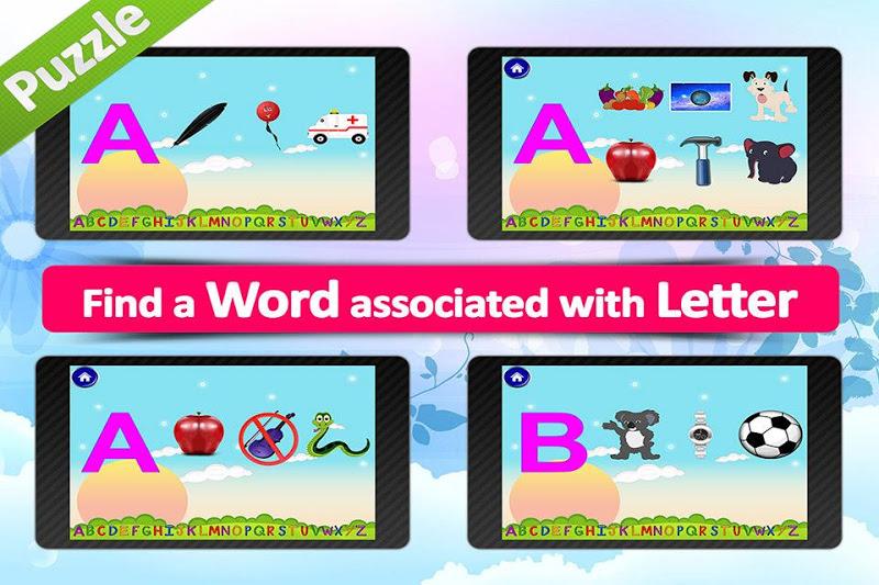 Скриншот Animated alphabet for kids,ABC