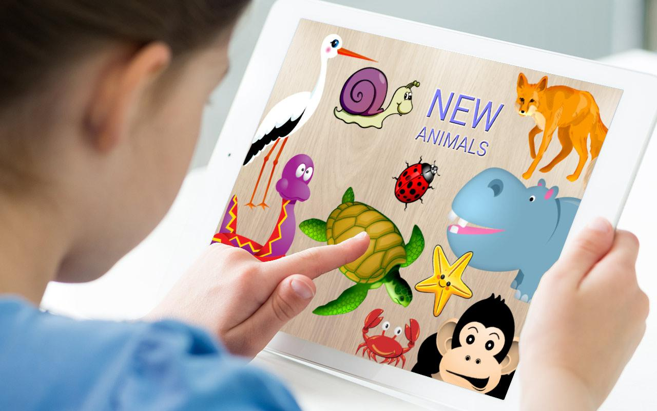 Animals Puzzle for Kids- screenshot