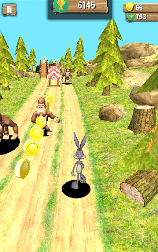 Bunny dash Vs Hunted jungle runner 2018  screenshots EasyGameCheats.pro 4