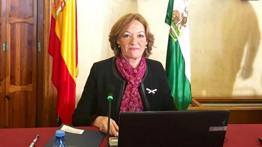 Carmen Ortiz, consejera de Agricultura.