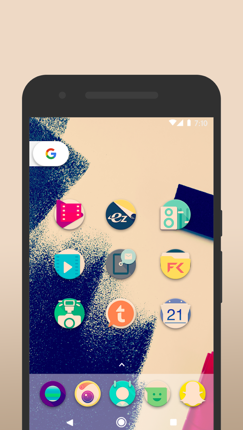 Pix it Vintage - Icon Pack Screenshot 2