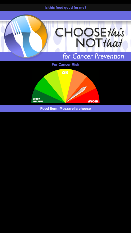 Cancer Prevention- screenshot