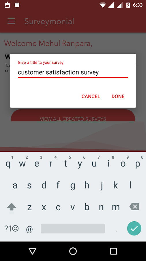 Surveymonial- screenshot