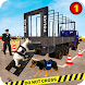 US Police Dog Transport: Multi Level Parking Game