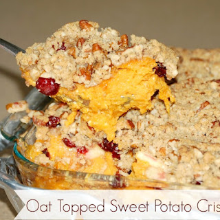 Oat Topped Sweet Potato Crisp