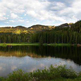 lake by Kristi Parker - Landscapes Waterscapes