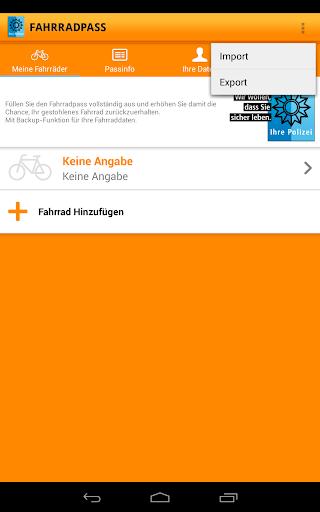 Fahrradpass 2.1.1 screenshots 12