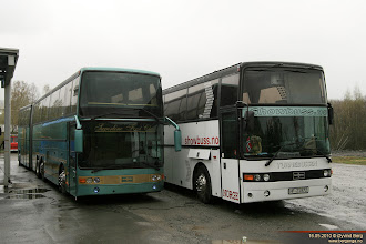 Photo: BR 97956 og HF 21972 hos Nettbuss på Jaren, 16.05.2010.