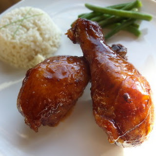 Oven Baked Chinese BBQ Chicken