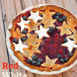 Red, White and Blue Cherry Pie