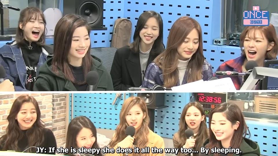 FULL ENG SUB 171110 SBS Power FM 'Choi hwajung's Powertime' with TWICE 32-39 screenshot