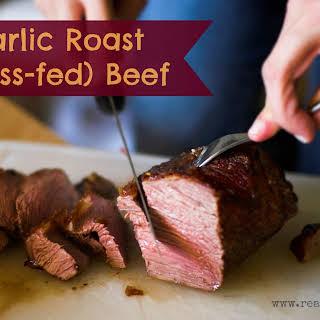 Garlic Roast (grass-fed) Beef Roast.