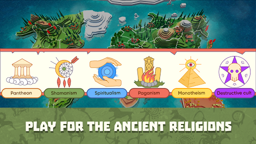 God Simulator. Sandbox strategy game Religion Inc. 1.1.6 screenshots 1