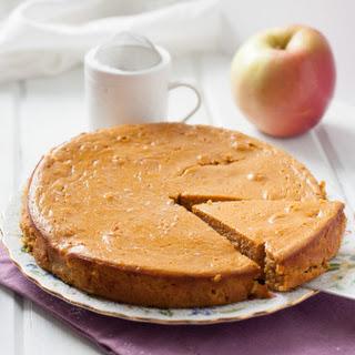 Paleo Plantain Apple Cake.