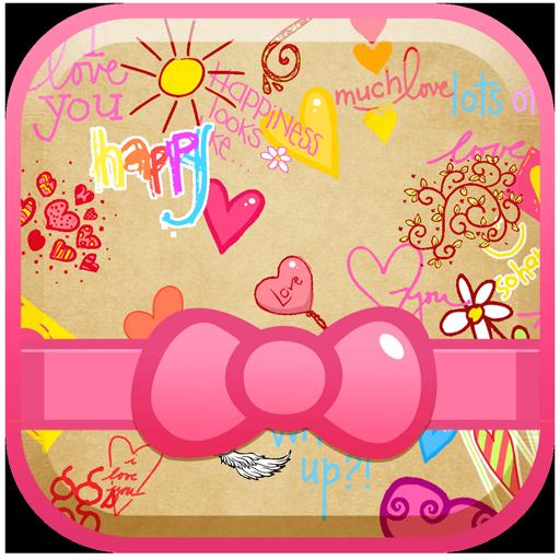 可爱的壁纸高清的女孩 個人化 App LOGO-硬是要APP