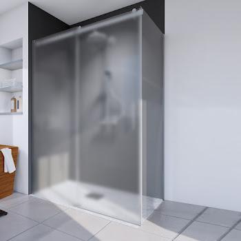 Paroi latérale pour porte de douche coulissante, 80 ou 90 cm, Urban II