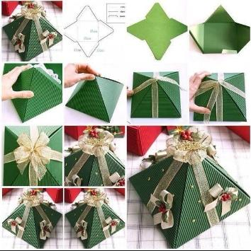 Foto do gift wrapping decoration ideas