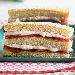 Raspberry and Vanilla Stack Cake.