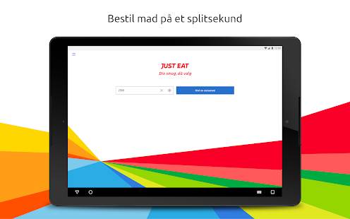 Just Eat – Bestil Take Away- screenshot thumbnail