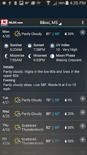 WLOX 24/7 Weather - screenshot thumbnail