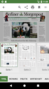 Berliner Morgenpost – Miniaturansicht des Screenshots