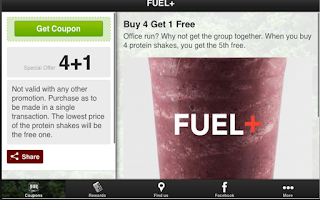 Screenshot of FUEL+
