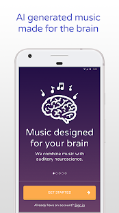 Brain.fm - Music for the Brain- screenshot thumbnail