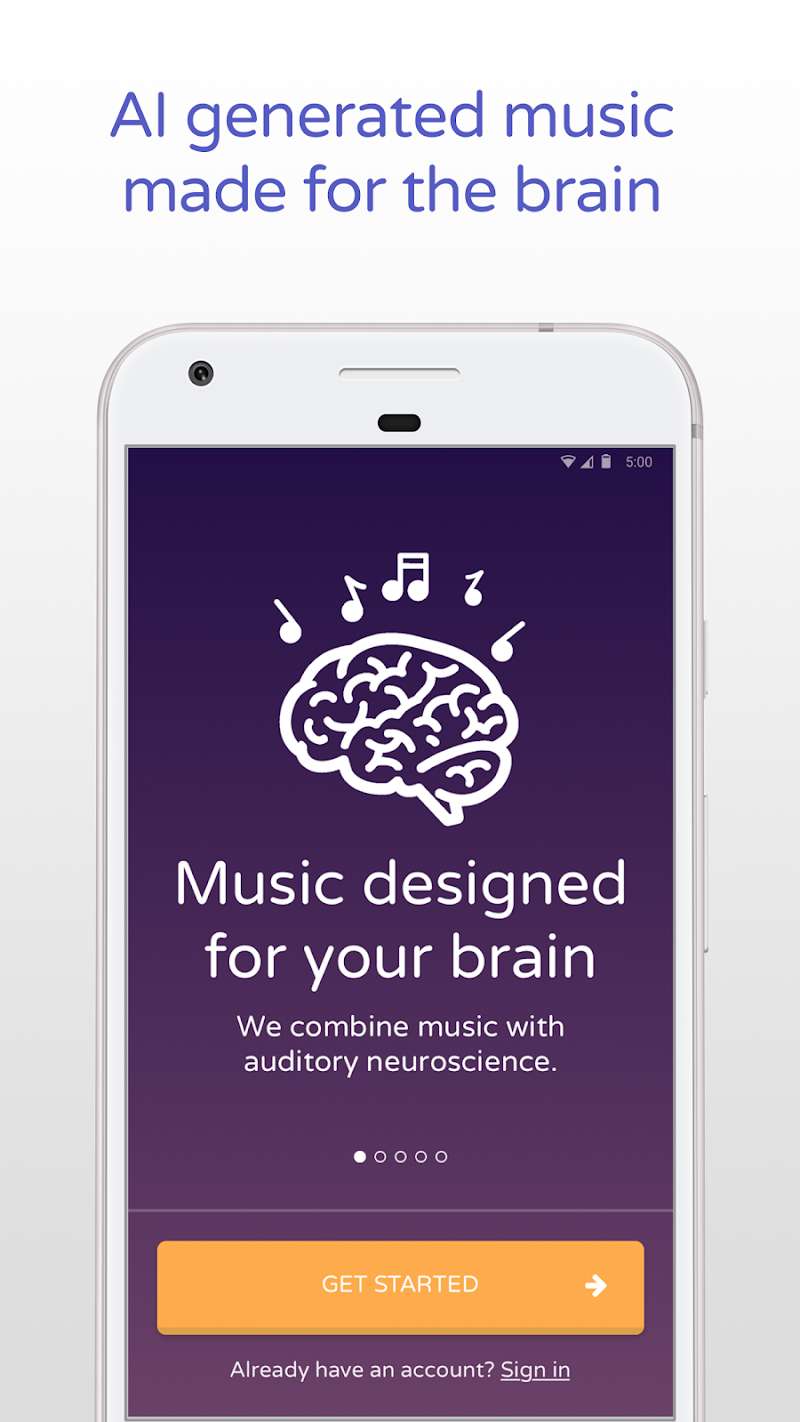 Скриншот Brain.fm: Music for the Brain