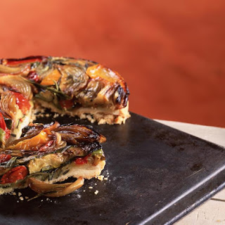 Mediterranean Roasted Vegetable Tart Tatin