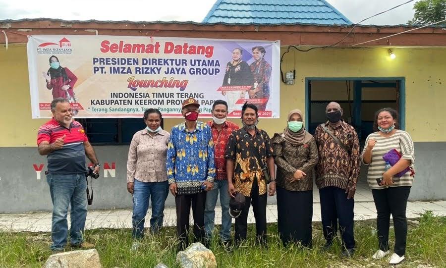Presdir PT IRJ Group Hibahkan 1000 Unit Lampu Penerangan Jalan Umum Untuk Masyarakat Papua