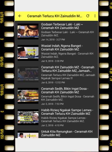 ceramah KH Zainudin MZ 1.0 screenshots 8