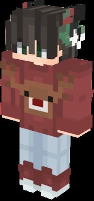Minecraft Christmas Skins.Christmas Boy Nova Skin