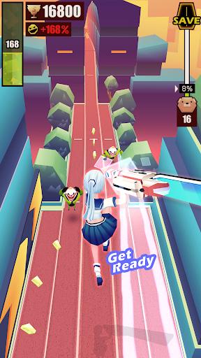 Slash & Girl - Endless Run filehippodl screenshot 4