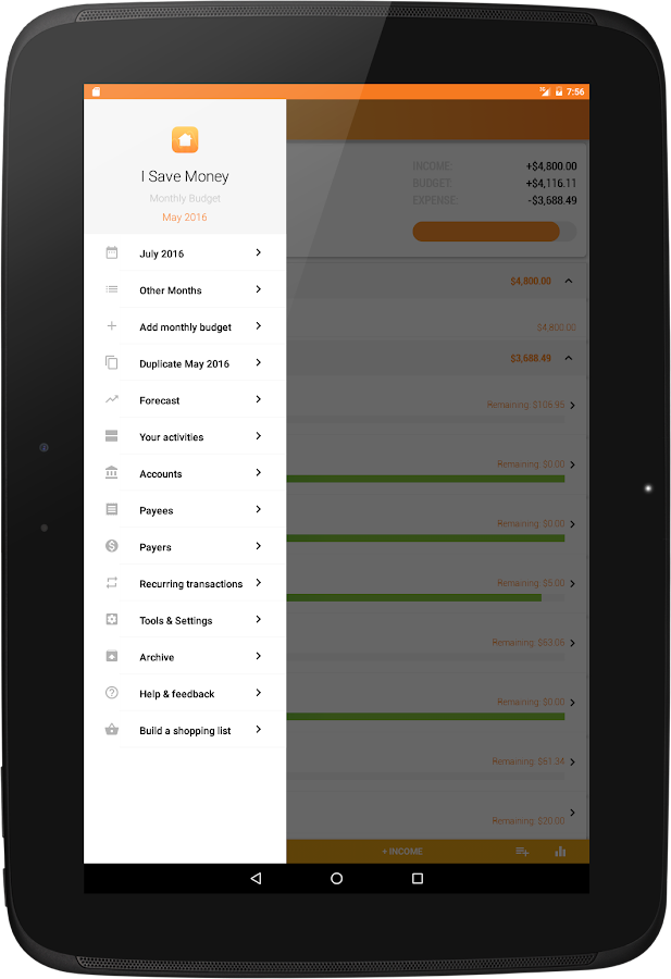 ExpenseMonthly Budget Planner Android Apps on Google Play – Monthly Budget Calculator