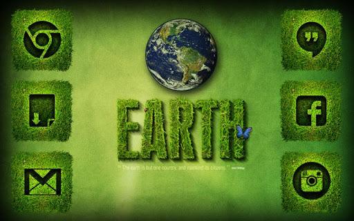 緑の地球SOLOランチャー