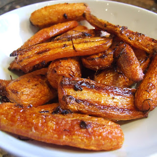 Roasted Carrots With Ginger And Orange.