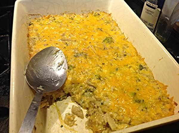 Broccoli  Rice & Chestnut Casserole
