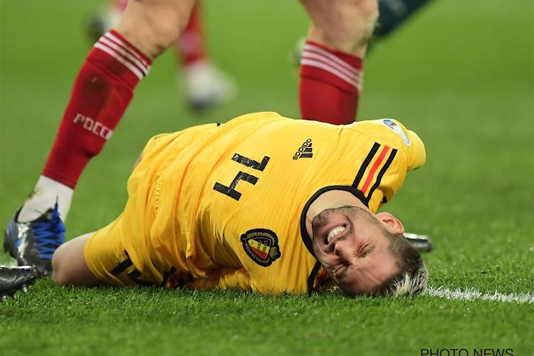 Dries Mertens nous donne de ses nouvelles après sa sortie sur blessure