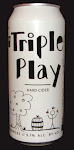Logo of Whiskey Barrel Triple Play Cider
