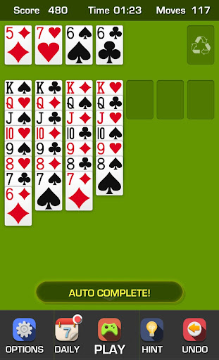 Free Solitaire Game apk screenshot 2